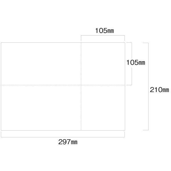 EIAJ標準納品書(白紙) A4-1P EIAJ-02 トッパンフォームズ (取寄品)