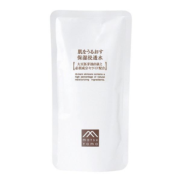 松山油脂 肌をうるおす保湿浸透水 詰替用
