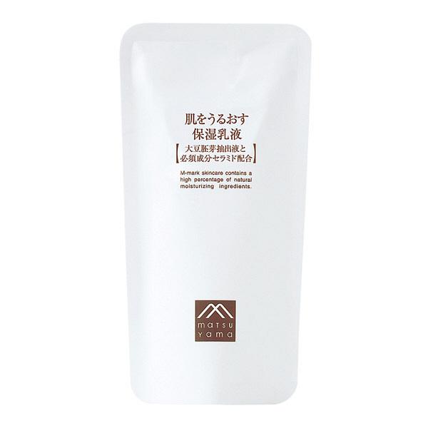 松山油脂 肌をうるおす 保湿乳液 詰替用