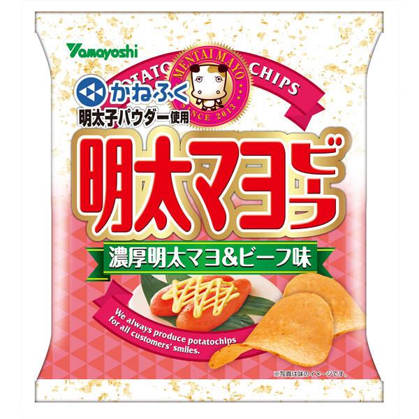 ポテトチップス明太マヨビーフ  50g
