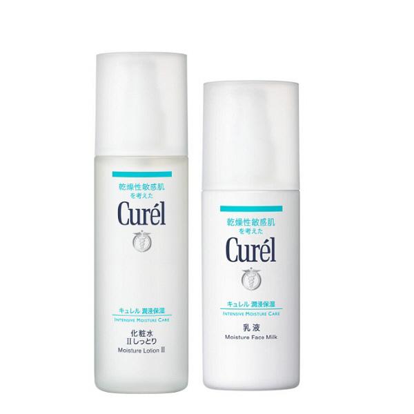 キュレル 化粧水2しっとり+乳液セット