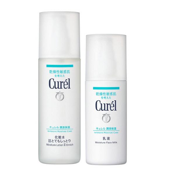 キュレル化粧水とてもしっとり+乳液セット