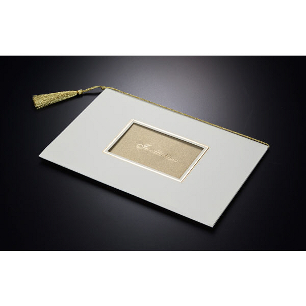 アスプルンド ウェディングカード 招待状10枚セット インペリアーレベージュ 中紙:A5 P94813