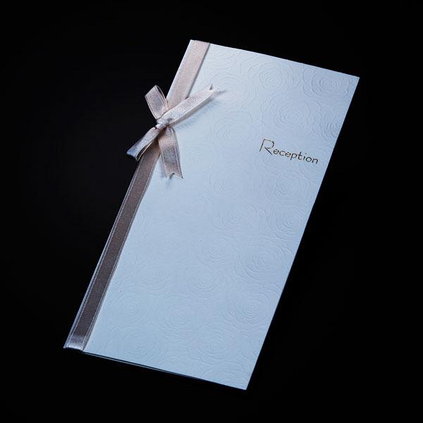 アスプルンド ウェディングカード 席次表10枚セット ホワイトローズ 中紙:B4 P95946