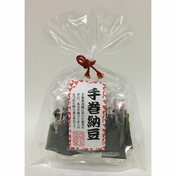 【成城石井】手巻納豆(巾着) 1袋