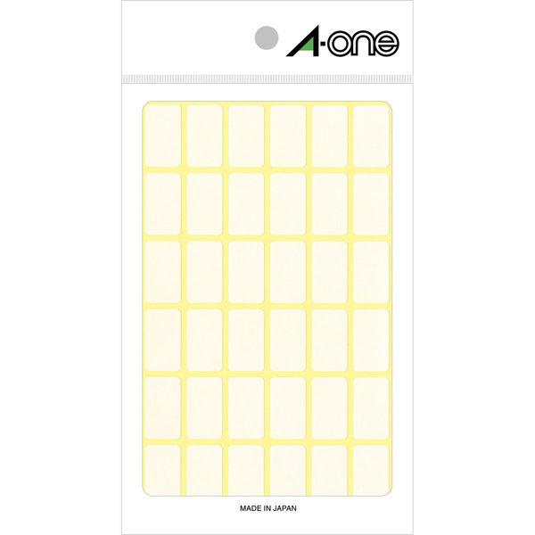 エーワン フリーラベル 整理・表示用 手書き用 上質紙 白 1片(12×21mm) 1袋(15シート 540片入) 06002(取寄品)