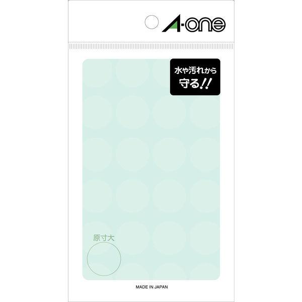 エーワン 透明保護ラベル 08378 1袋(192片入) (取寄品)