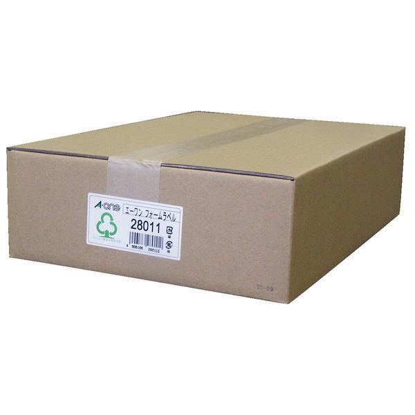 エーワン コンピュータフォームラベル 15インチ幅 24面 28011 1袋(500シート入) (取寄品)