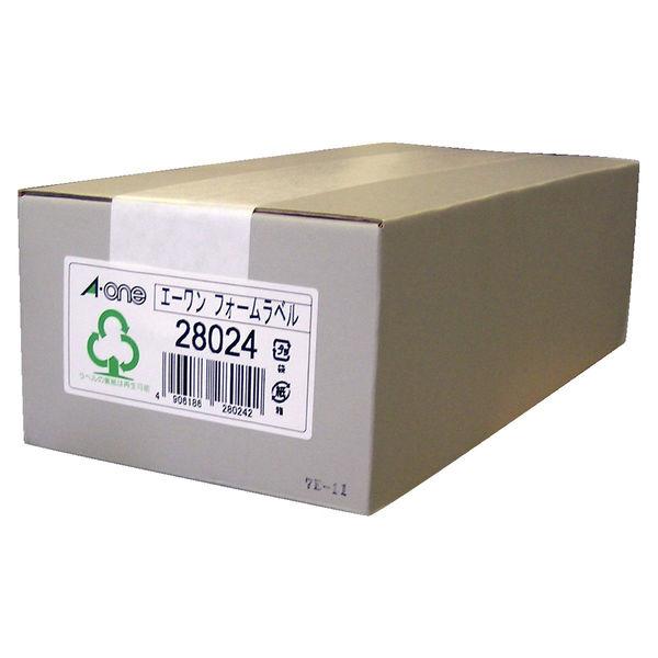 エーワン コンピュータフォームラベル 4.5インチ幅 6面 28024 1袋(500シート入) (取寄品)