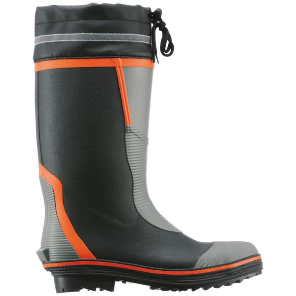 アスクル 「現場のチカラ」 安全長靴 先芯・踏み抜き防止板入り M 1足
