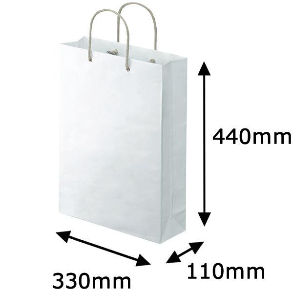 カバー付 手提げ紙袋 L 10枚