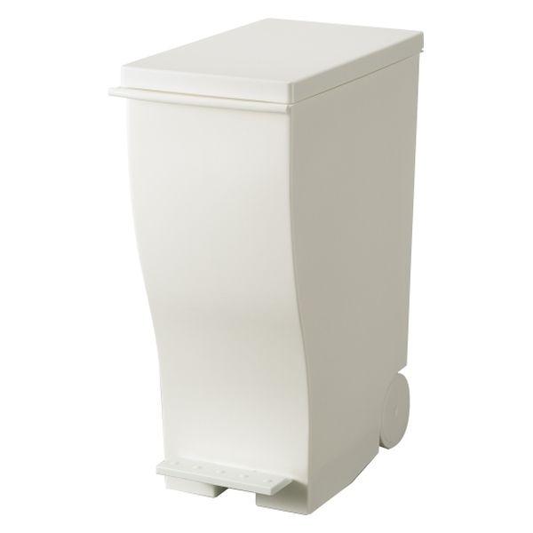 岩谷マテリアル ImD ごみ箱 プラスチック 33L フタあり ホワイト KUD30H W 1個