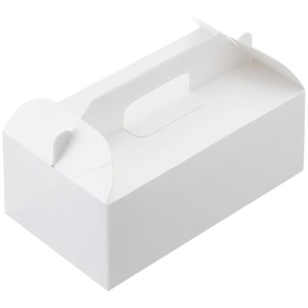 ケーキボックス 白無地 LL 1袋50枚