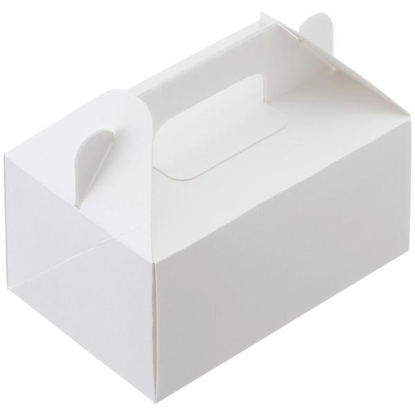 ケーキボックス 白無地 L 1袋50枚入