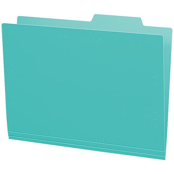 個別フォルダーPP製 A4 緑 5冊