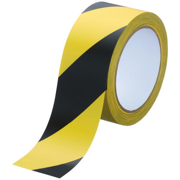 アスクル ラインテープ 幅50mm×長さ20m トラ 1セット(10巻)