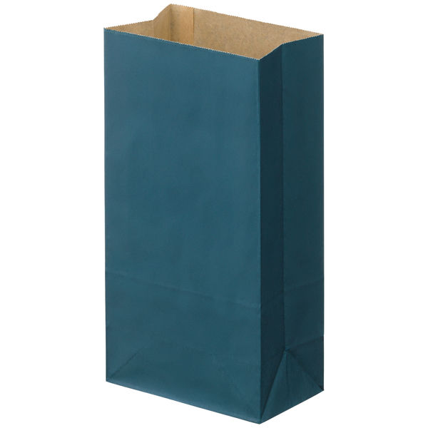 角底紙袋 紺 6号 100枚