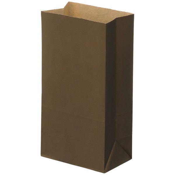 角底紙袋 茶 6号 100枚