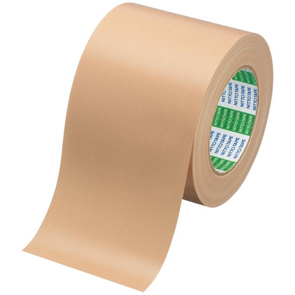ニトムズ 布粘着テープ NO.750 幅100mm×長さ25m 1セット(5巻) 厚さ0.33mm J5120