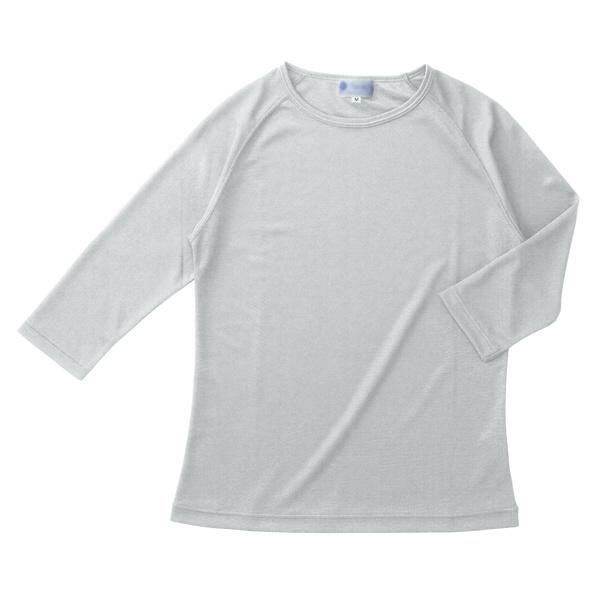 インナーTシャツ シルバーグレー S