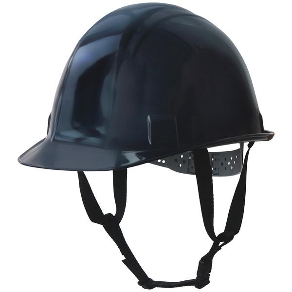TOYO SAFETY(トーヨーセフティー) 電気用 飛来・落下物用 アメリカンタイプ 軽量ヘルメット(インナー付) 紺 頭囲/53~61cm NO.170F