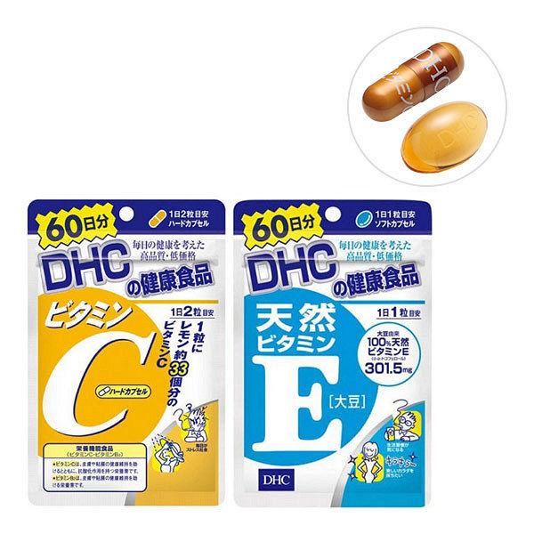 DHC ビタミンC+天然ビタミンE大豆