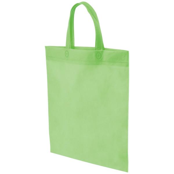 不織布手提げ袋 グリーン B4 50枚