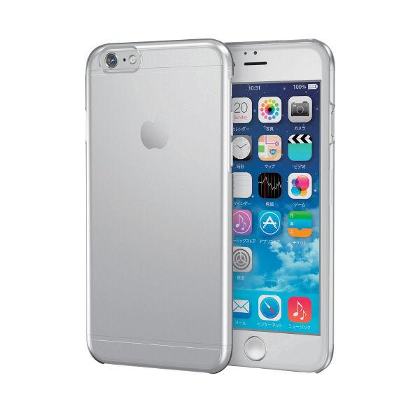 8c1c5695d0 アスクル】エレコム iPhone 6s/6用シェルカバー クリア PM-A15PVCR 1個 ...