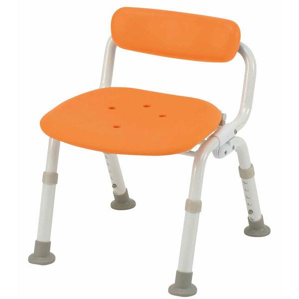 シャワーチェア ユクリア コンパクト腰当付き オレンジ PN-L40921D パナソニック エイジフリー (取寄品)