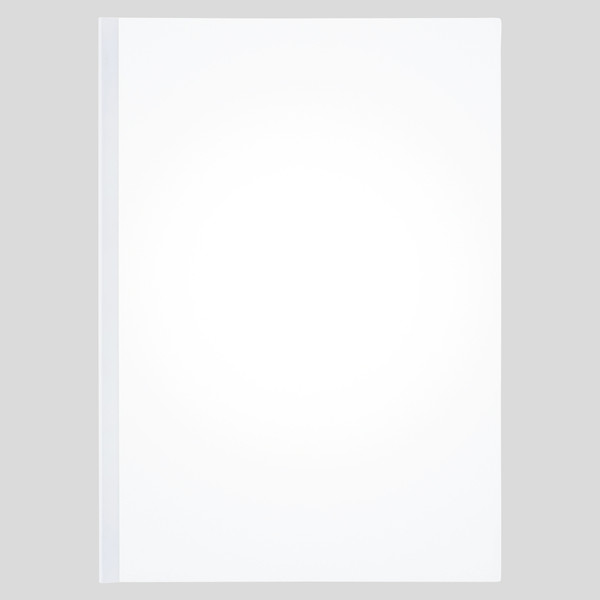 アスクル レール式クリアーホルダースリム(20枚綴じ) 白 A4タテ BP 1セット(30冊)