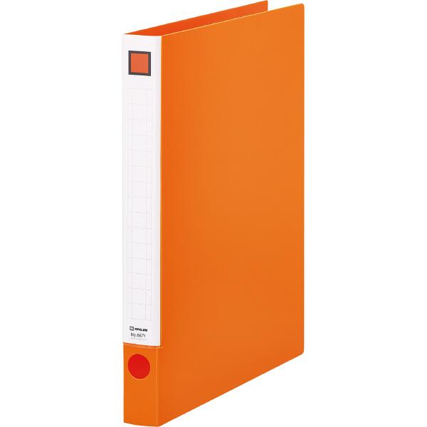 キングジム レバーリングファイル A4タテ 背幅29mm オレンジ 6671オレ 1箱(10冊入)