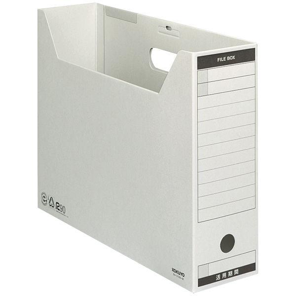 コクヨ ファイルボックス-FS Bタイプ B4ヨコ背幅102mmグレー B4-LFBN-M 1セット(15冊)