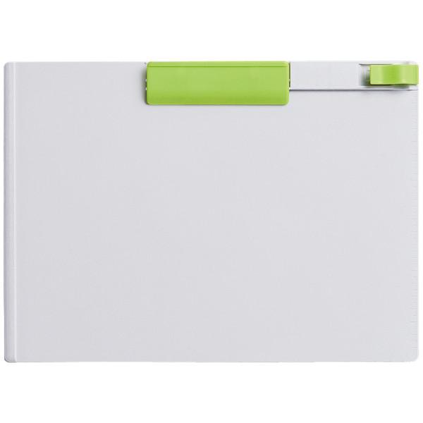コクヨ クリップボード<K2> A4ヨコ 緑 K2ヨハ-PS73YG 1箱(10枚入)