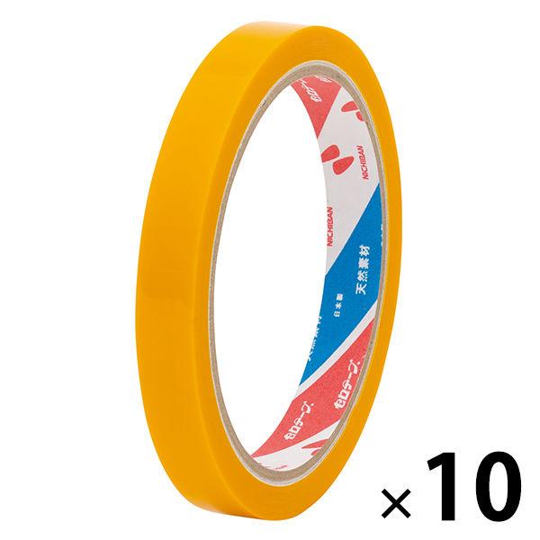 ニチバンセロテープ(R)(着色)12mm 黄10巻(1箱10巻入) 4301-12
