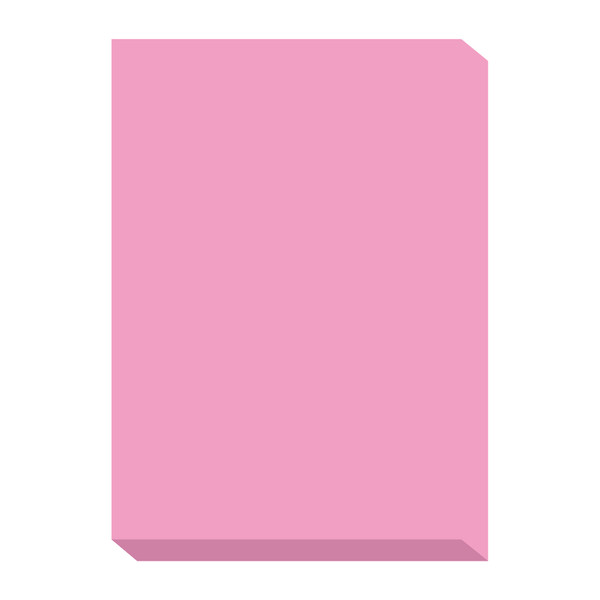 オフィス用紙カラーR100 ピンク A4サイズ OFR100P-A4 1箱(500枚入×5冊) 北越紀州製紙