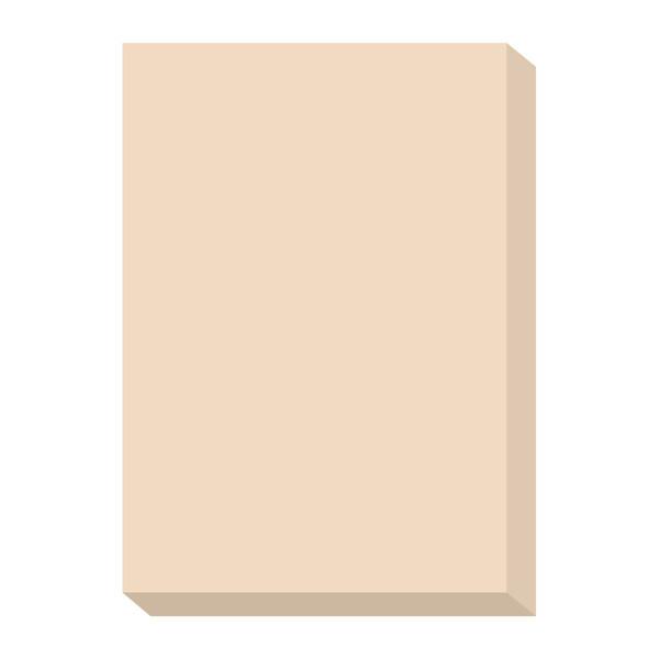 オフィス用紙カラーR100 アイボリー A4サイズ OFR100I-A4 1箱(500枚入×5冊) 北越紀州製紙
