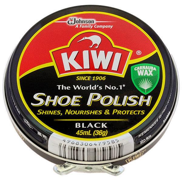 KIWI油性靴クリーム 黒用45ml