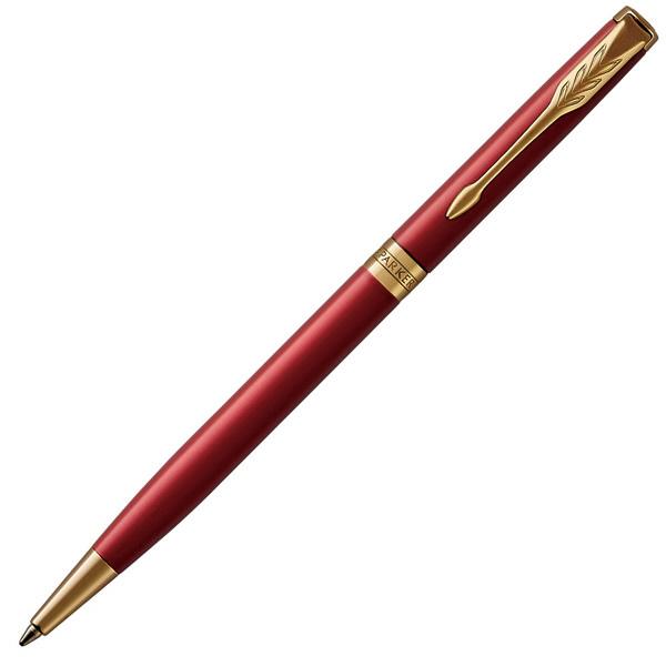ソネットラックレッドGTスリムボールペン (取寄品)