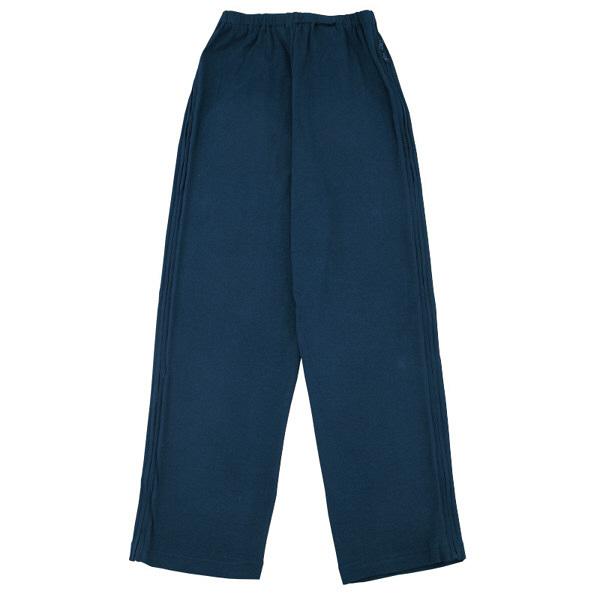 紳士フルオープン洗い替えパンツ ネイビー M 38594-31 (取寄品)
