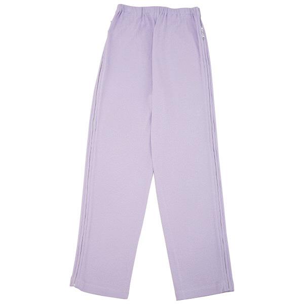 婦人フルオープン洗い替えパンツ パープル L 38595-32 (取寄品)
