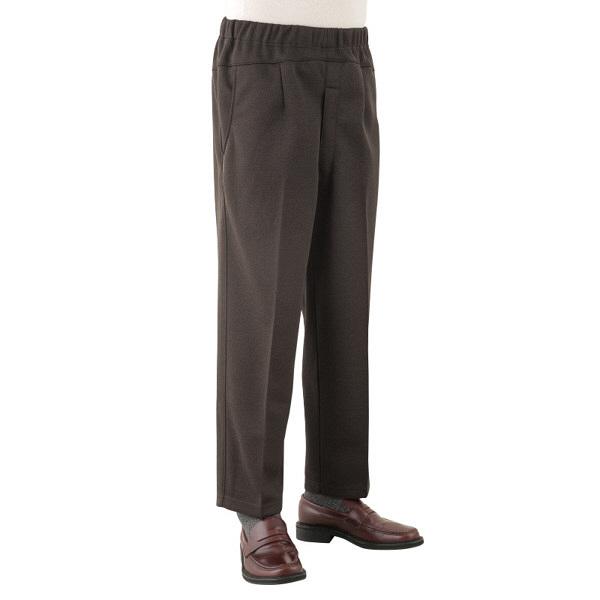紳士Gラインパンツ ブラウン LL 39286-13 (取寄品)