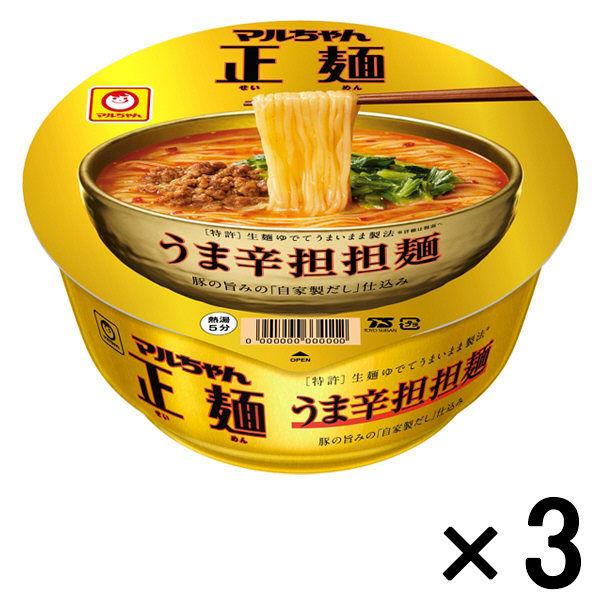 マルちゃん正麺 うま辛担担麺 3食
