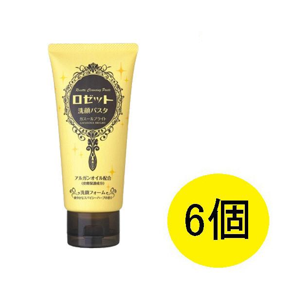ロゼット洗顔パスタ ガスールブライト6個