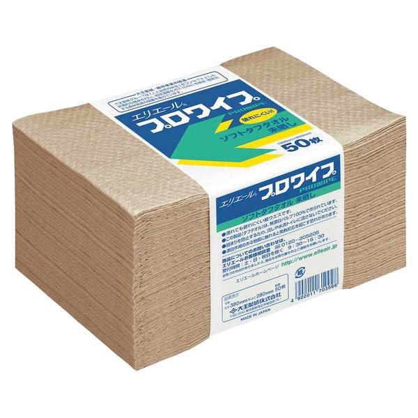 大王製紙 エリエールプロワイプ ソフトタフタオル 703356 1セット(250組)