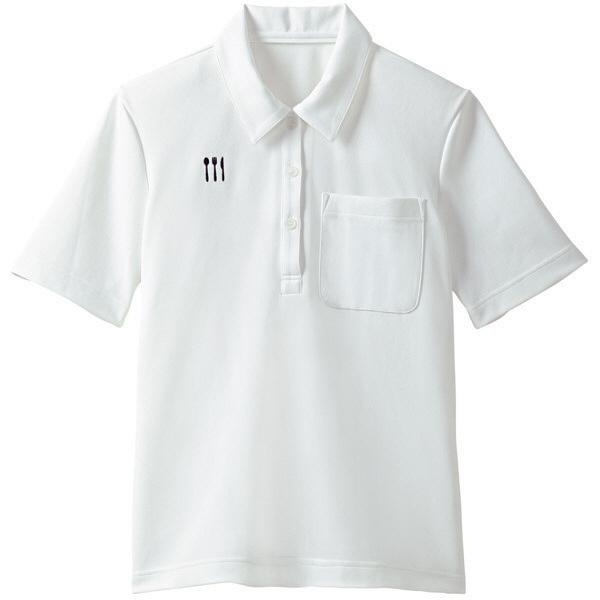 【メーカーカタログ】 トンボ 栗原はるみ×キラク ニットシャツ 白 M 4K28001-01 1枚  (取寄品)