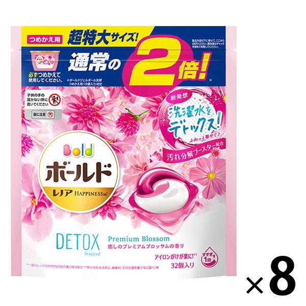 ボールド ジェルボール3D 超特大替×8