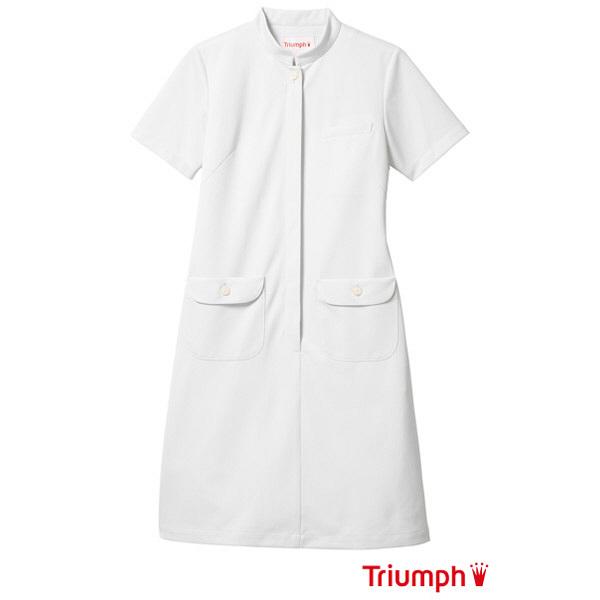 【メーカーカタログ】 サンペックスイスト トリンプ ワンピースTPFー205 ホワイト LL TPF-205-WH 1枚  (取寄品)