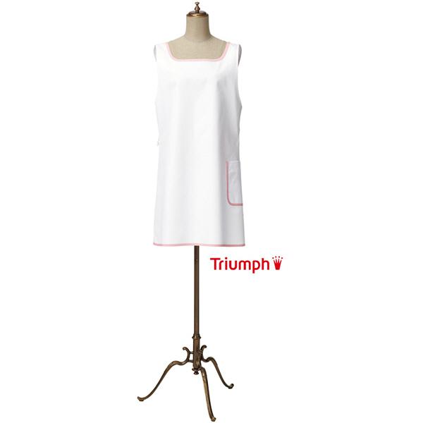 【メーカーカタログ】 サンペックスイスト トリンプ エプロンTTUー903 ホワイト M TTU-903-WH 1枚  (取寄品)