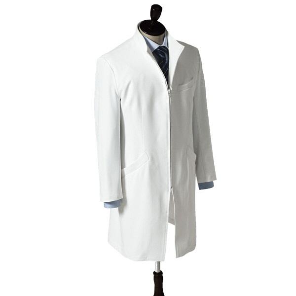 【メーカーカタログ】 サンペックスイスト トリンプ ドクターコートTXMー003 白 LL TXM-003-WH 1枚  (取寄品)