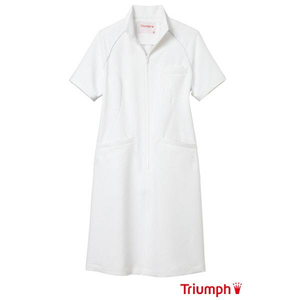【メーカーカタログ】 サンペックスイスト トリンプ ワンピースTXMー203 ホワイト S TXM-203-WH 1枚  (取寄品)